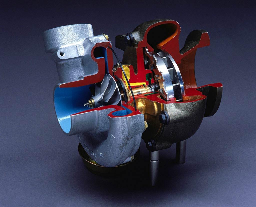 Partes turbo