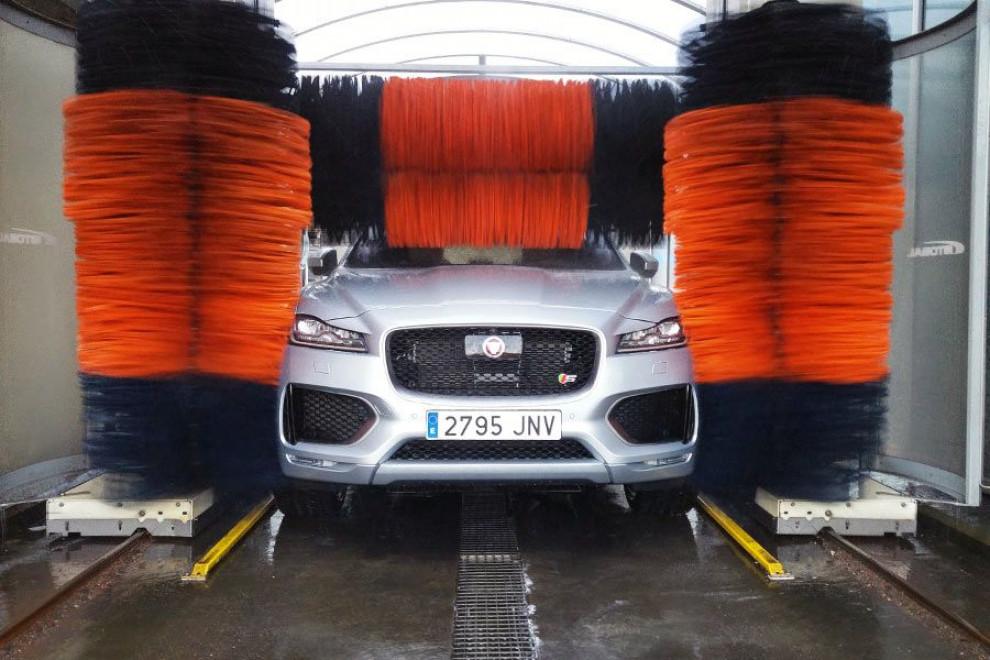 Túneles lavado formas que estropean coche