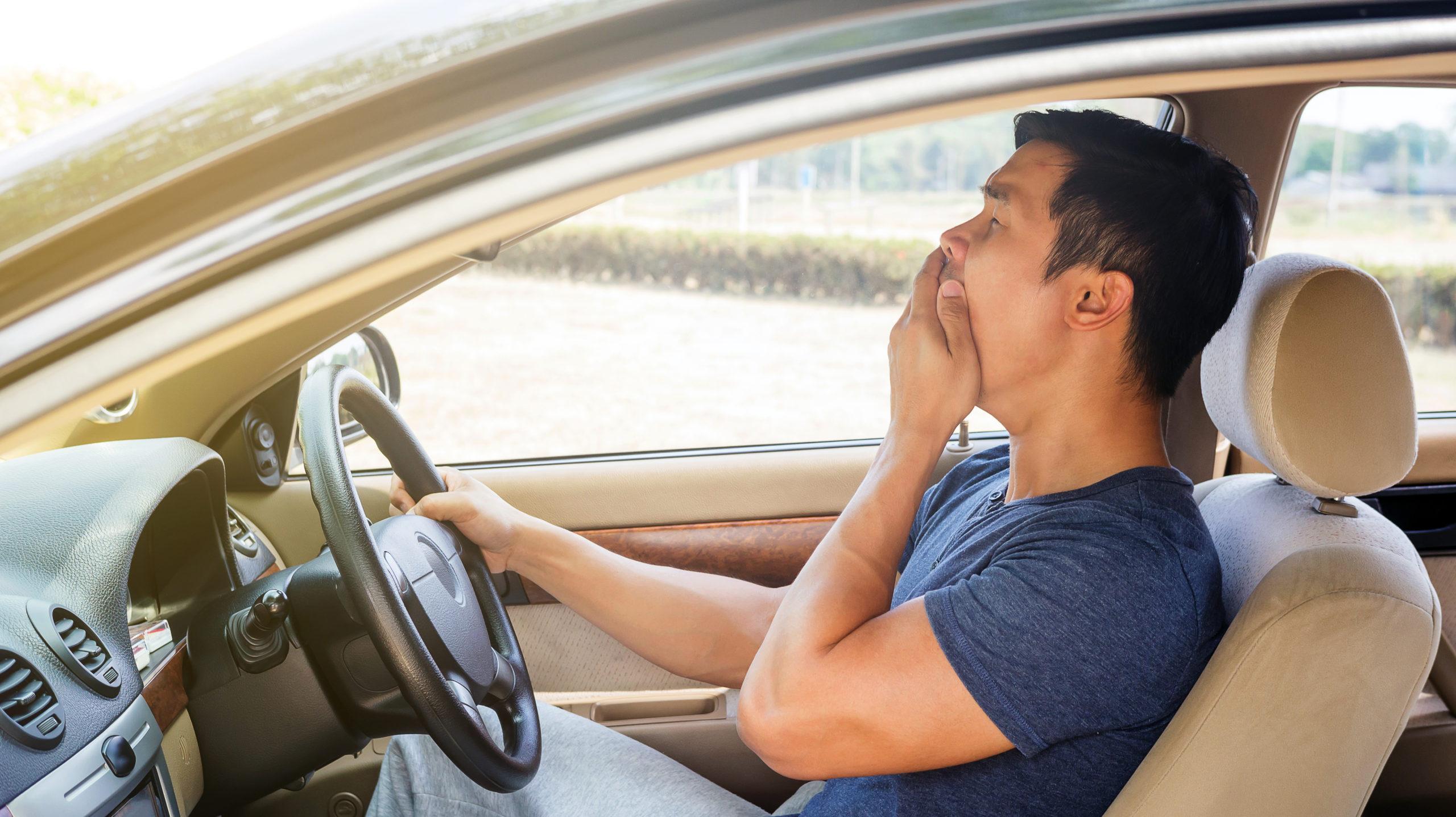 Cansancio conducir