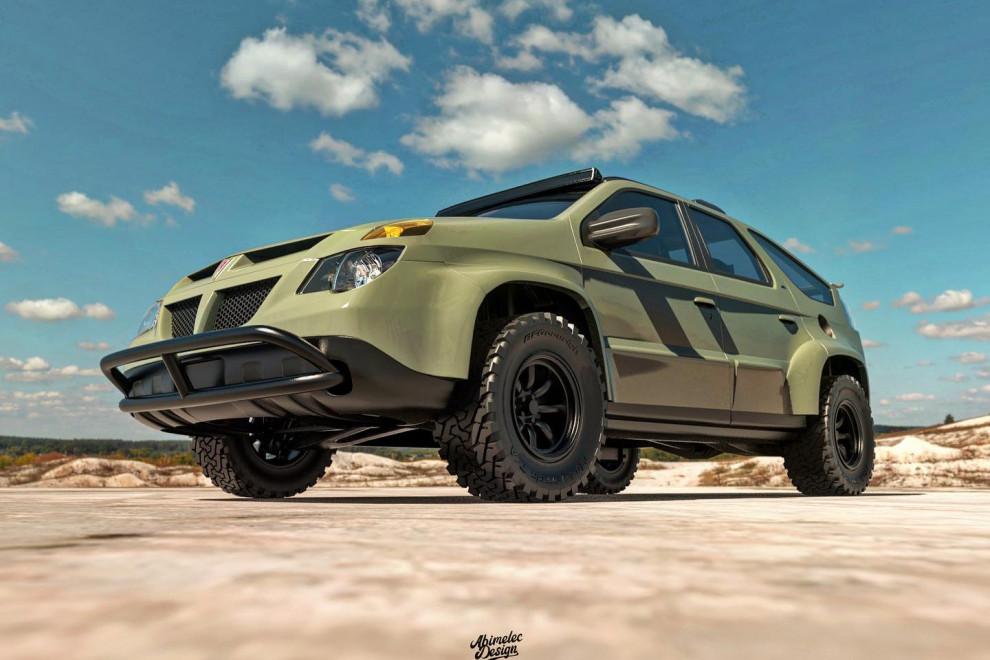 Pontiac Aztek modificado