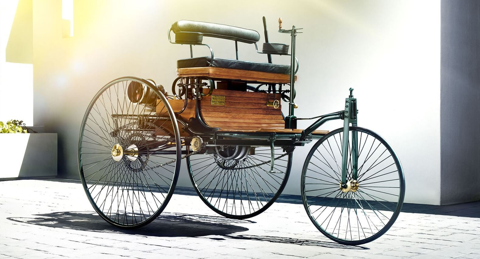 Primer vehículo mundo