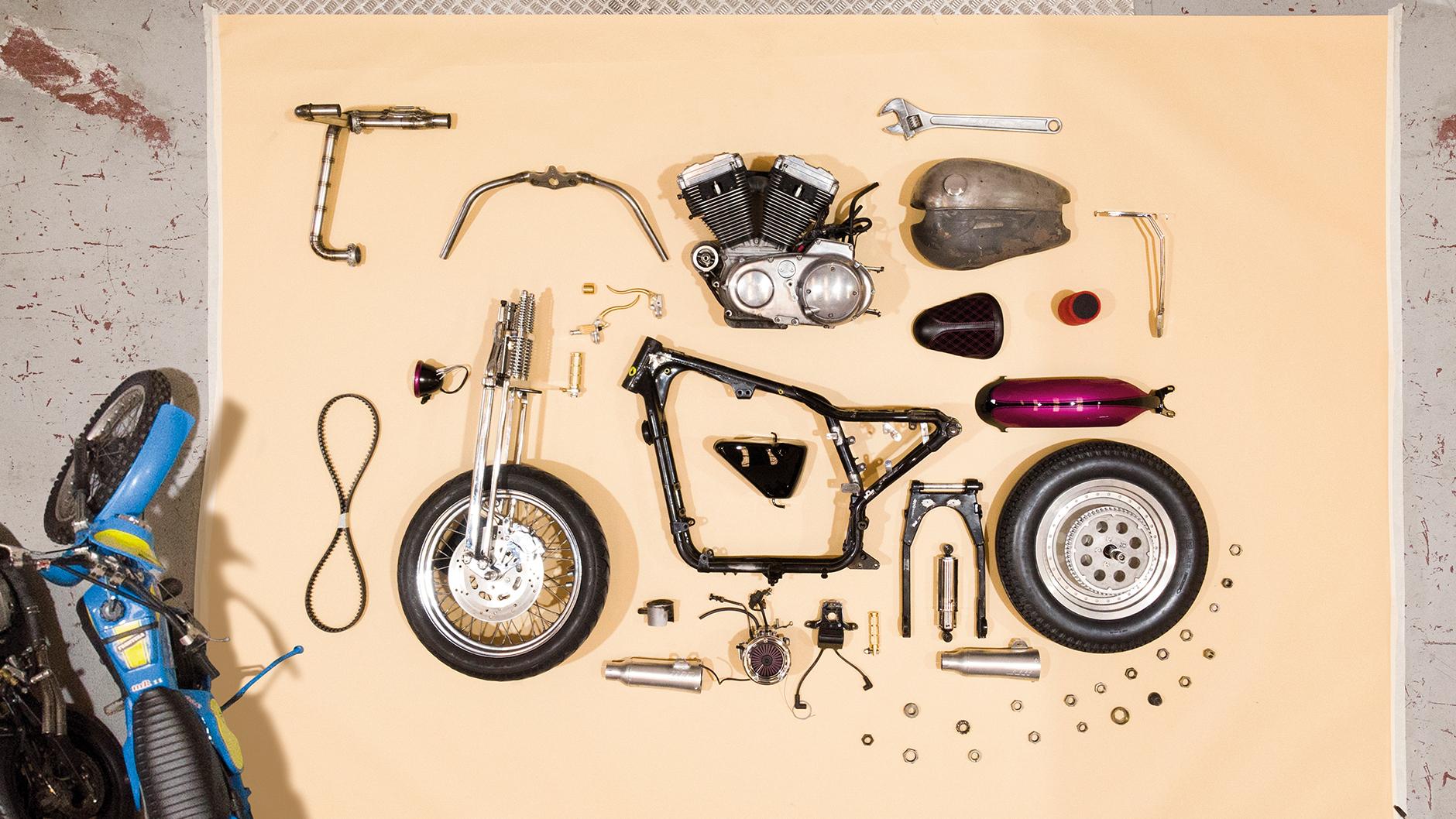 Desmontar moto