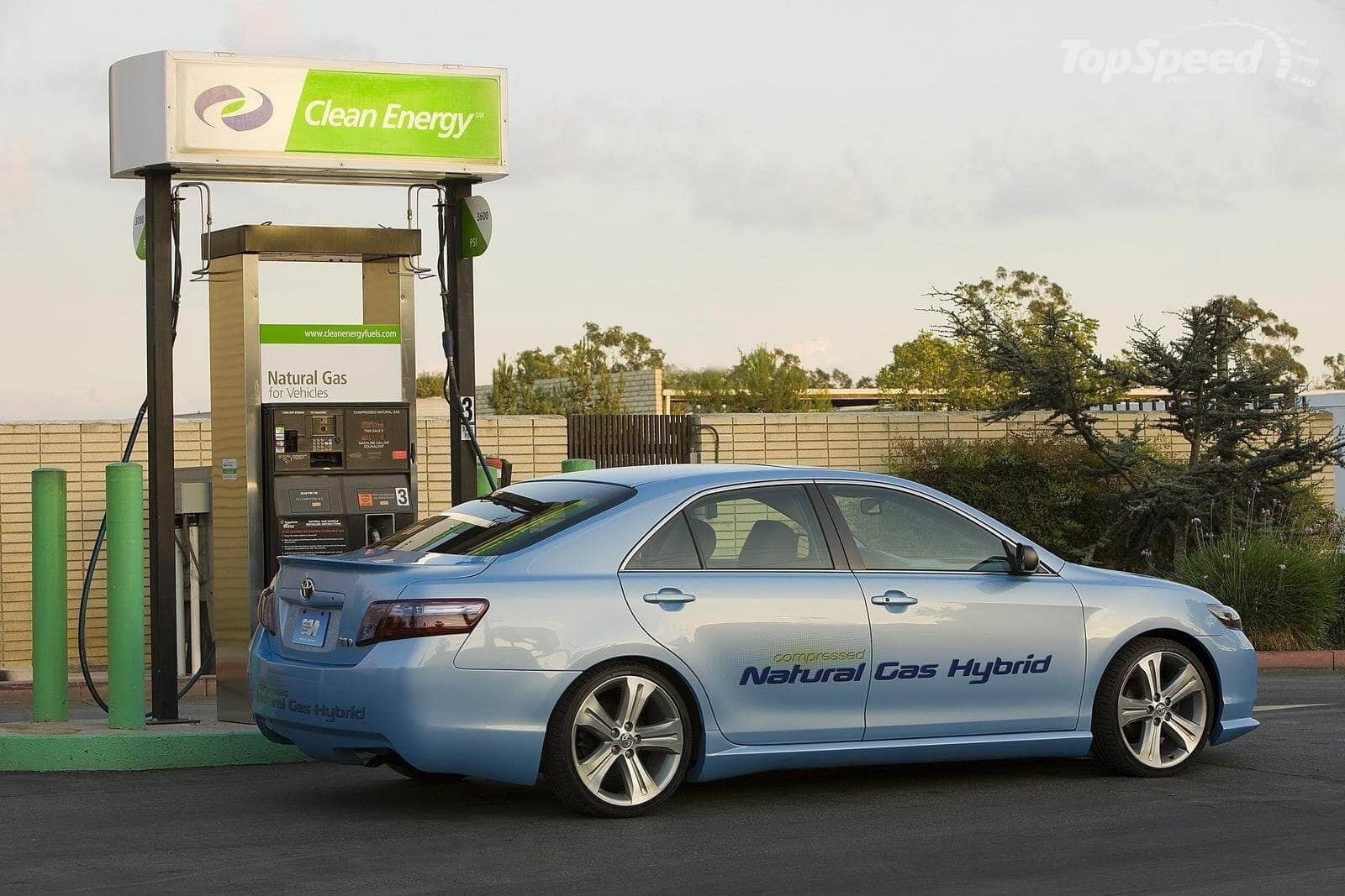 Gas natural comprimido